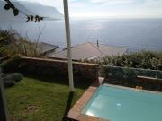 Plunge pool in garden terrace