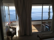 Sea views from main bedroom