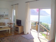 Lounge leading to garden terrace