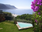Superb views from the garden terrace no 3