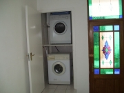 Washer and tumble drier