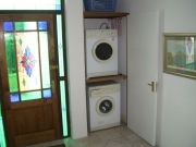 Washing machine and tumble drier