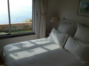 Main bedroom with direct sea view