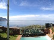 Panorama from garden terrace