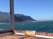 Sea views from your sheltered balcony