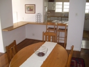 View from dining room towards kitchen