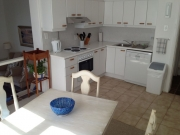 Kitchen fully fitted with dishwasher and all equipment, dining room